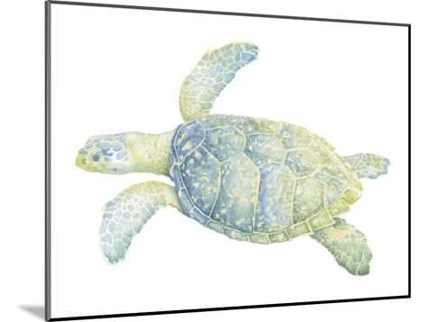 Tranquil Sea Turtle II-Megan Meagher-Mounted Art Print
