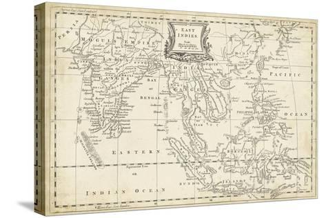 Map of East Indies-T^ Jeffreys-Stretched Canvas Print
