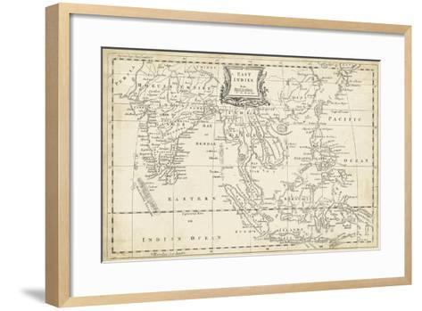 Map of East Indies-T^ Jeffreys-Framed Art Print