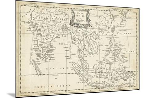 Map of East Indies-T^ Jeffreys-Mounted Art Print
