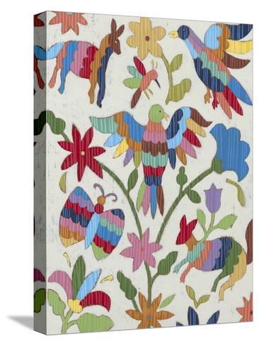Otomi Embroidery II-Chariklia Zarris-Stretched Canvas Print