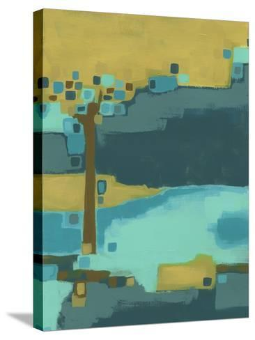 River Bend I-June Vess-Stretched Canvas Print