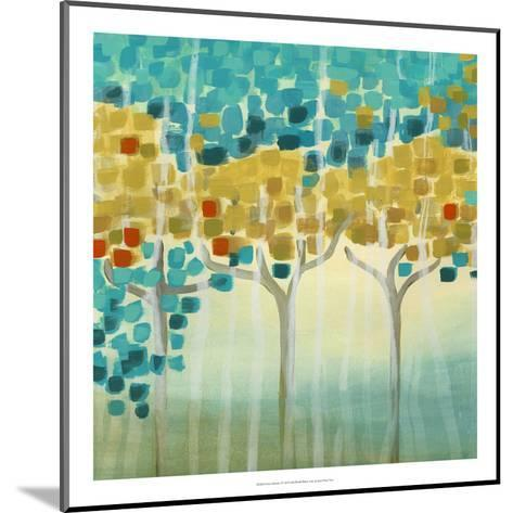 Forest Mosaic I-Erica J^ Vess-Mounted Art Print