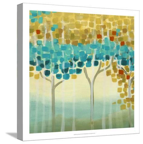 Forest Mosaic II-Erica J^ Vess-Stretched Canvas Print