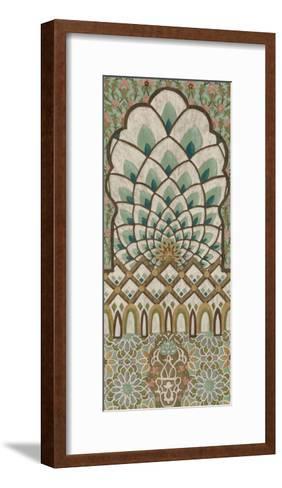 Peacock Tapestry I-Chariklia Zarris-Framed Art Print