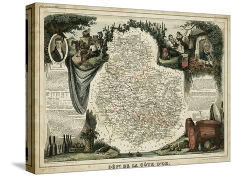 Atlas Nationale Illustre IX-Victor Levasseur-Stretched Canvas Print