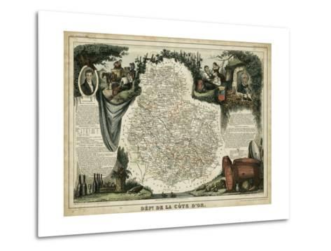 Atlas Nationale Illustre IX-Victor Levasseur-Metal Print