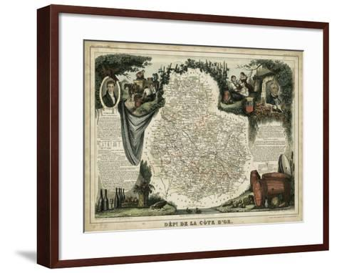 Atlas Nationale Illustre IX-Victor Levasseur-Framed Art Print