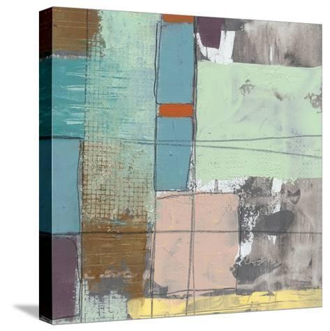 Pastel City II-Jennifer Goldberger-Stretched Canvas Print