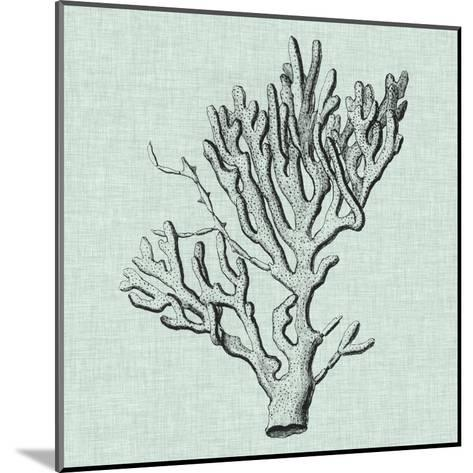 Serene Coral III-Vision Studio-Mounted Art Print