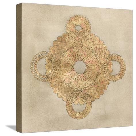 Solar Medallion I-Vanna Lam-Stretched Canvas Print