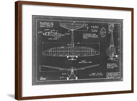 Aeronautic Blueprint VI-Vision Studio-Framed Art Print