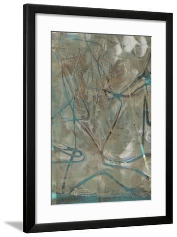 Fluid Sea I-Jennifer Goldberger-Framed Art Print