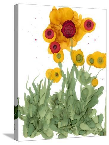 Poppy Whimsy I-Cheryl Baynes-Stretched Canvas Print
