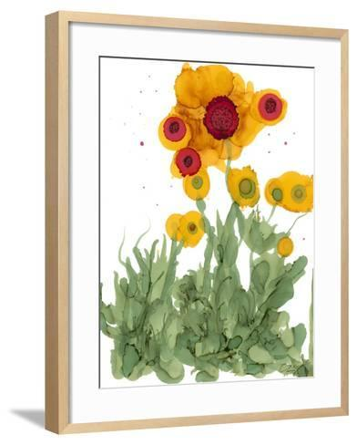 Poppy Whimsy I-Cheryl Baynes-Framed Art Print