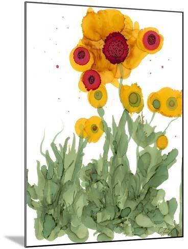 Poppy Whimsy I-Cheryl Baynes-Mounted Art Print