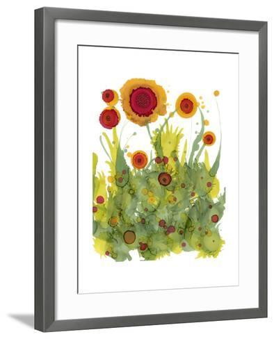 Poppy Whimsy II-Cheryl Baynes-Framed Art Print