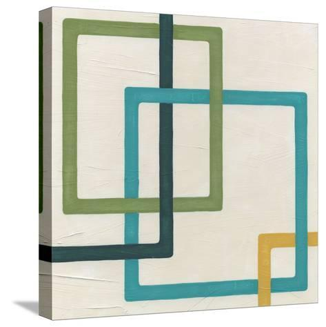 Non-Embellished Infinite Loop II-Erica J^ Vess-Stretched Canvas Print