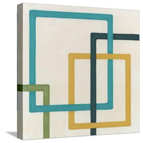 Non-Embellished Infinite Loop III-Erica J^ Vess-Stretched Canvas Print
