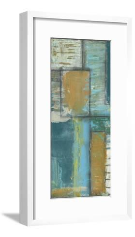 Quadrant Overlay II-Jennifer Goldberger-Framed Art Print