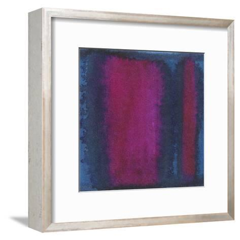 Indigo Meditation I-Renee W^ Stramel-Framed Art Print