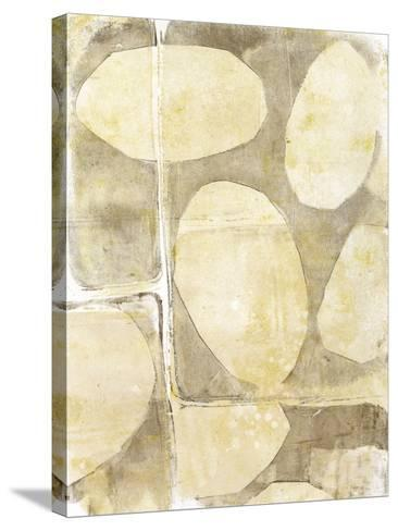 River Rock V-Jennifer Goldberger-Stretched Canvas Print