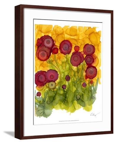 Poppy Whimsy VIII-Cheryl Baynes-Framed Art Print