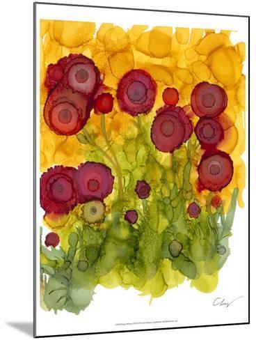 Poppy Whimsy VIII-Cheryl Baynes-Mounted Art Print