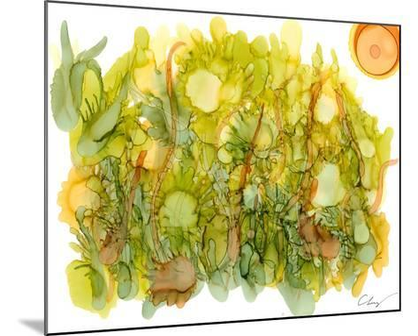 Sunlit Poppies IV-Cheryl Baynes-Mounted Art Print