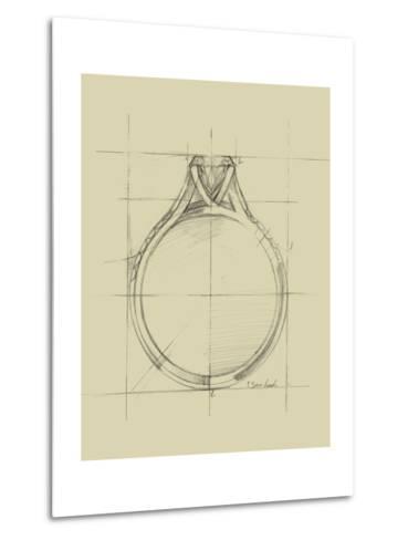 Ring Design II-Ethan Harper-Metal Print