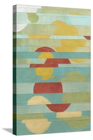 Non-Embellished Splice II-Megan Meagher-Stretched Canvas Print