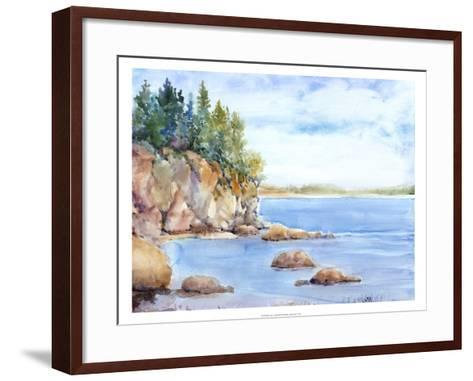 Shore Line I-Tim O'toole-Framed Art Print