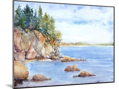 Shore Line I-Tim O'toole-Mounted Art Print
