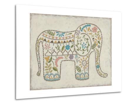 Laurel's Elephant I-Chariklia Zarris-Metal Print