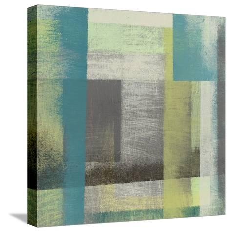Overspray I-Jennifer Goldberger-Stretched Canvas Print