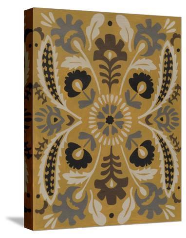 Golden Suzani I-Chariklia Zarris-Stretched Canvas Print