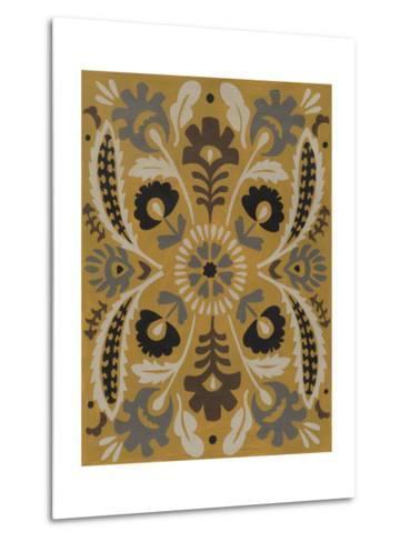 Golden Suzani I-Chariklia Zarris-Metal Print