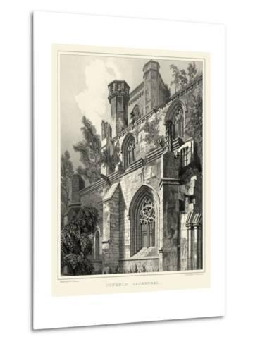 Gothic Detail VII-R^w^ Billings-Metal Print