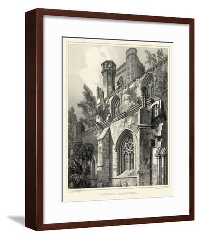 Gothic Detail VII-R^w^ Billings-Framed Art Print