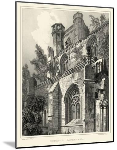 Gothic Detail VII-R^w^ Billings-Mounted Art Print