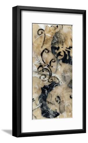 Swirls and Whirls II-Jennifer Goldberger-Framed Art Print