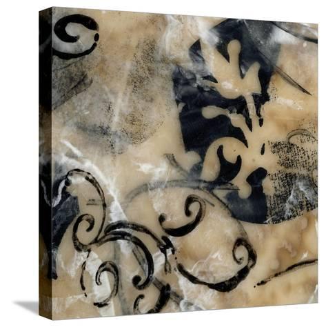 Swirls and Whirls IV-Jennifer Goldberger-Stretched Canvas Print