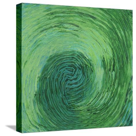 Green Earth II-Charles McMullen-Stretched Canvas Print