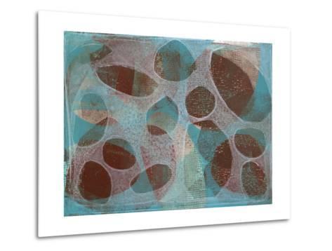 Layered Exclusion III-Jennifer Goldberger-Metal Print