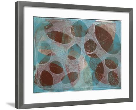 Layered Exclusion III-Jennifer Goldberger-Framed Art Print