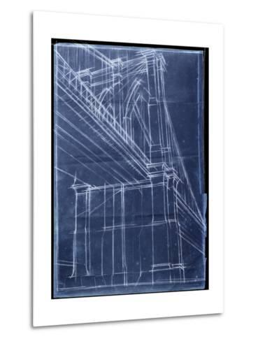 Bridge Blueprint II-Ethan Harper-Metal Print