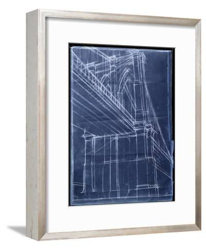 Bridge Blueprint II-Ethan Harper-Framed Art Print