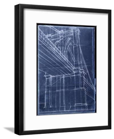 Bridge Blueprint II-Ethan Harper-Framed Art Print