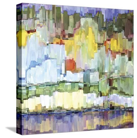 Glacier Bay IV-James Burghardt-Stretched Canvas Print
