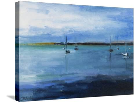 White Fish Bay-Curt Crain-Stretched Canvas Print